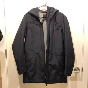 Black Nike Waterproof Jacket! Only worn once!